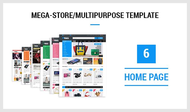 Vanesa   Mega Store Responsive Joomla Template - 7