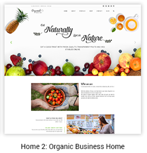 Organic Business Home