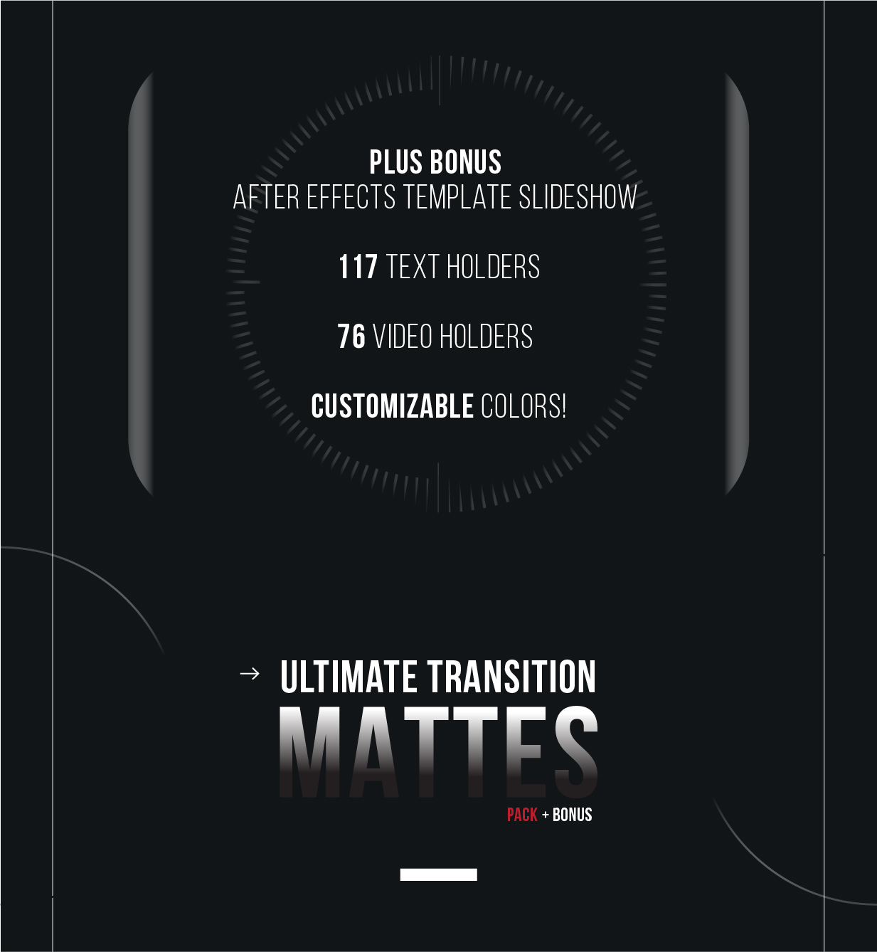 Ultimate Transition Mattes Pack - 12