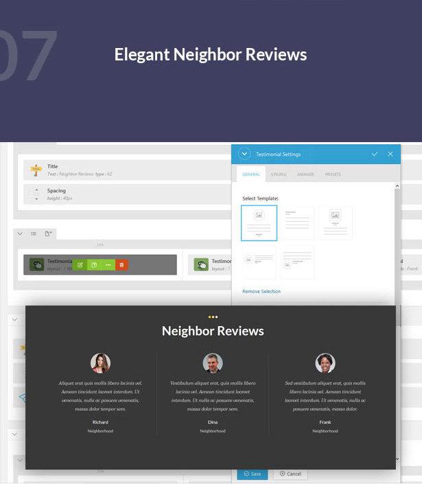 elegant neighbor reviews-Single Property Real Estate WordPress Theme