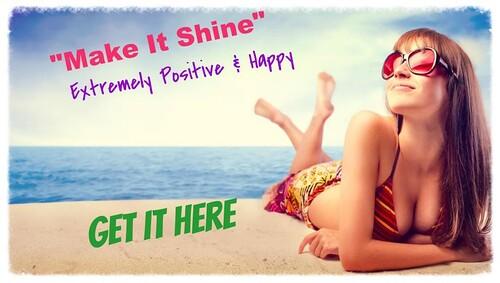 Make it shine promo girl