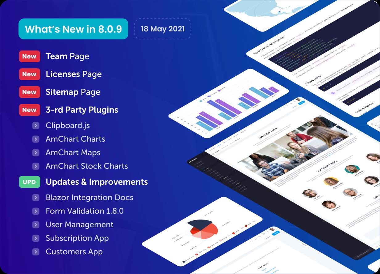 Metronic - Bootstrap 4/5 HTML, VueJS, React, Angular & Laravel Admin Dashboard Theme - 25