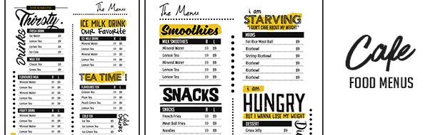 Trendy Food Menu - 3