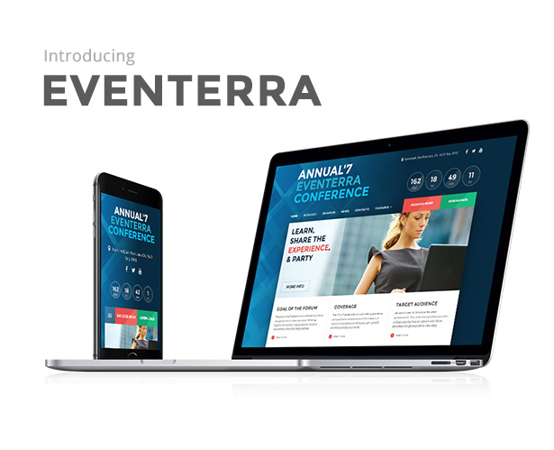 Download] Eventerra v1.2.1.1 - Event / Conference WordPress Theme Nulled