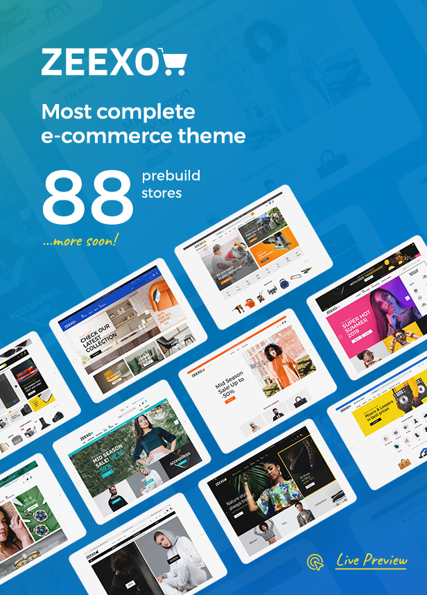 Zeexo - Premium OpenCart Theme - 1