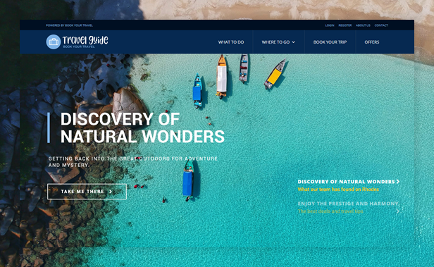 Book Your Travel - Online Booking WordPress Theme - 9