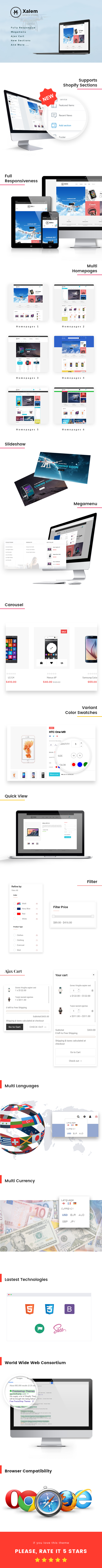 517047ed37fc1 THEME DETAIL. Ap Xalem is an extremely beautiful and smart 100% responsive  shopify ...