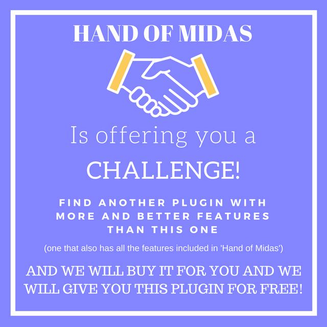 Hand of Midas Challenge