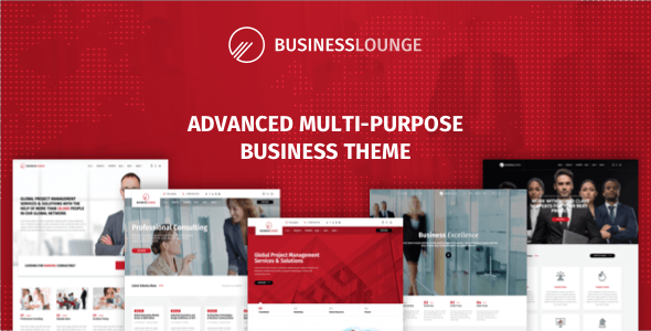 Business Lounge | Multi-Purpose Business & Consulting Theme - Business Corporate