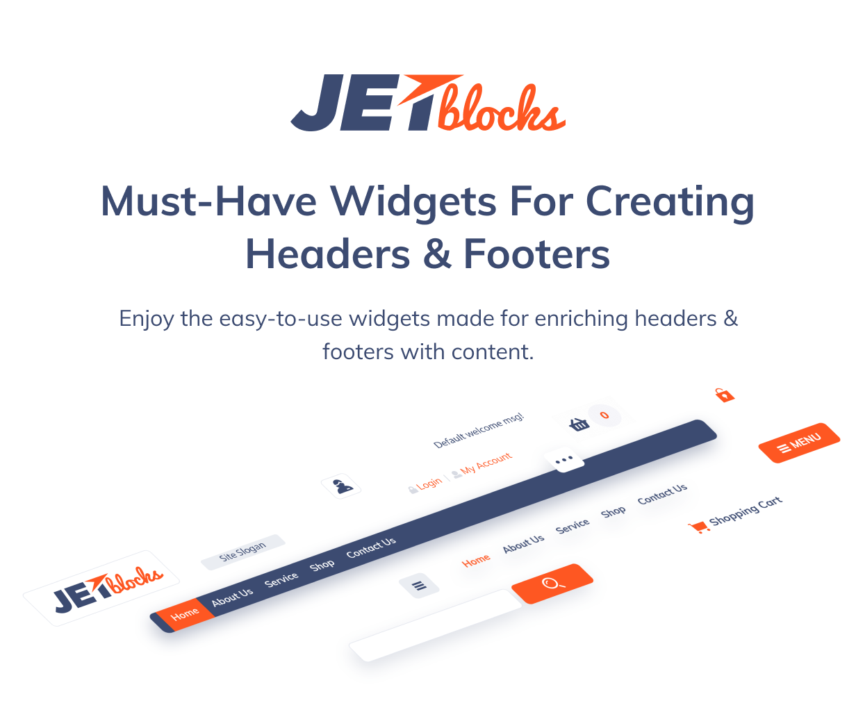 JetBlocks -  the must-have headers & footers widgets for Elementor - 1