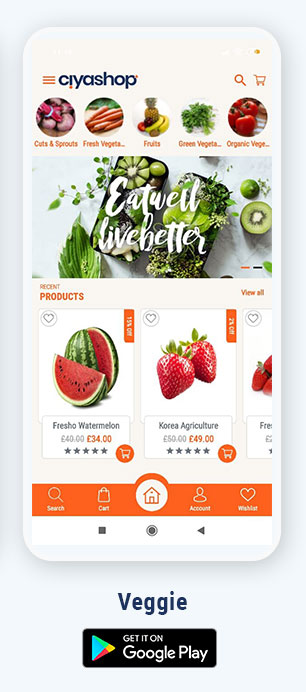 CiyaShop Native Android Application based on WooCommerce - 5