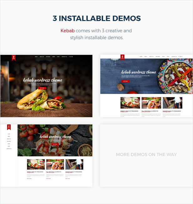 Kebab - Restaurant, Fast Food WordPress Theme - 4