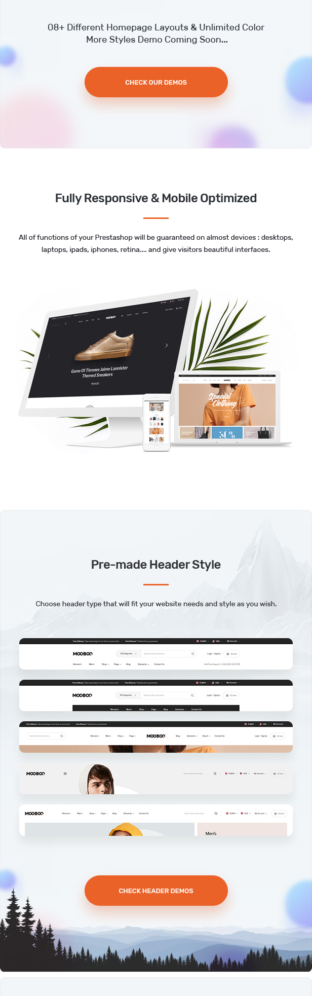 MooBoo - Fashion Prestashop Theme