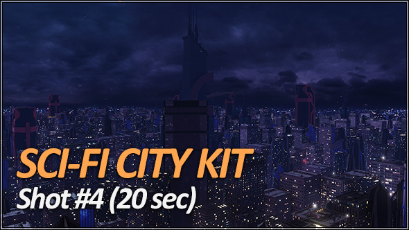 Sci-Fi City Pack - Establishing Shots - 6