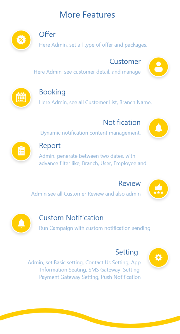 美体护肤美发沙龙&SPA服务预约类Android+IOS双端原生APP源码带Laravel管理后台