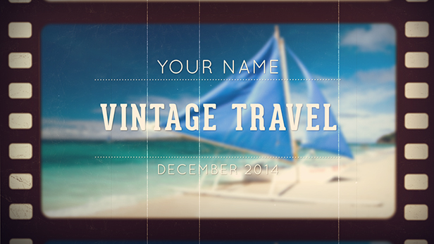 slideshow-vintage--photo-video-travel