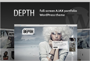 Depth - Full-Screen AJAX Portfolio WordPress Theme