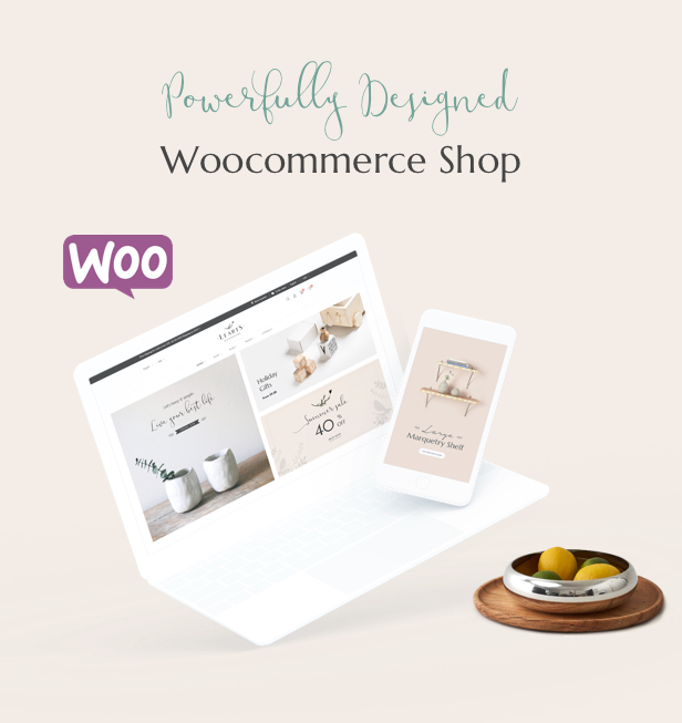 Handmade shop WooCommerce WordPress Theme - Strong Features