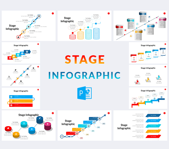 Stage-Infographic-Template