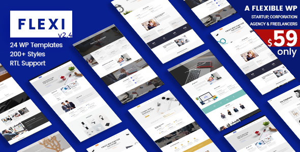 Flexi WP | Flexible WordPress Theme