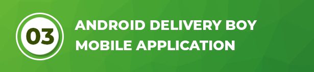 Ecommerce Solution with Delivery App For Grocery, Food, Pharmacy, Any Store / Laravel + Android Apps - 42