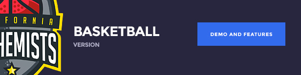 The Alchemists WordPress Theme - Basketball version