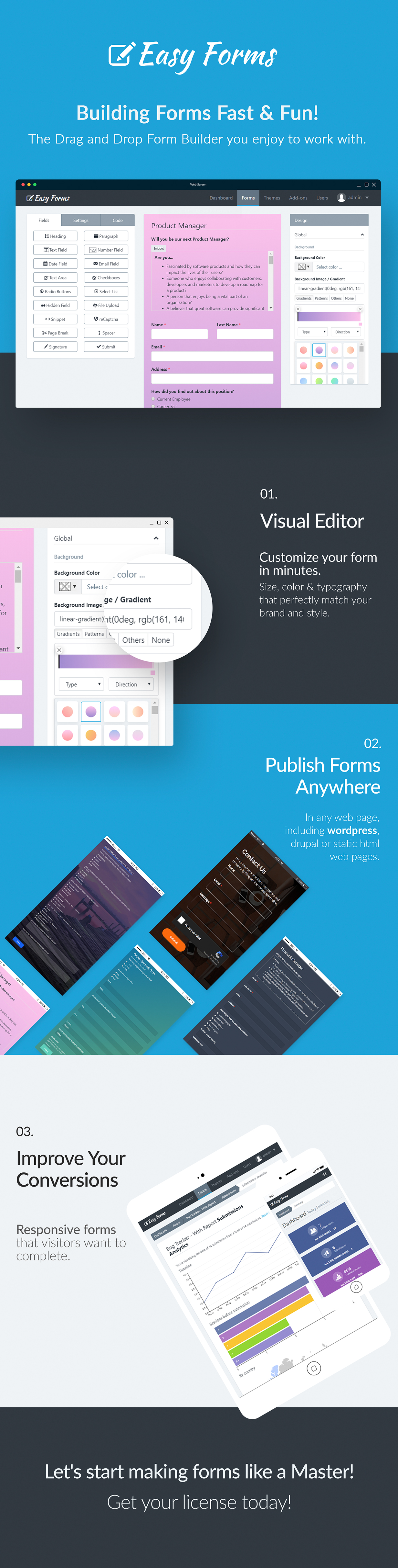 Easy Forms: Advanced Form Builder and Manager - 1