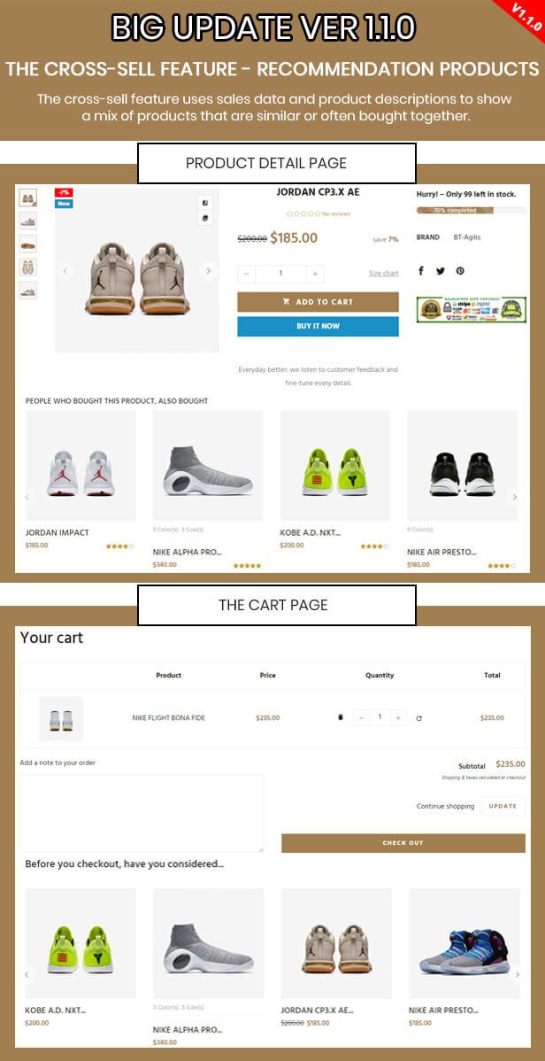 Agilis - Responsive Shopify Sections Theme - Google