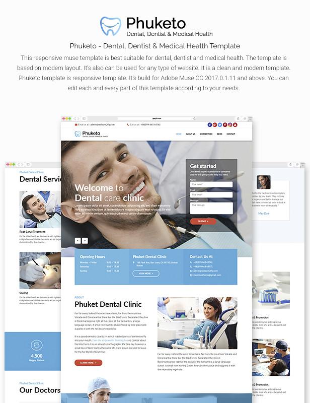 Phuketo - Dental, Dentist & Medical Health Template - 7