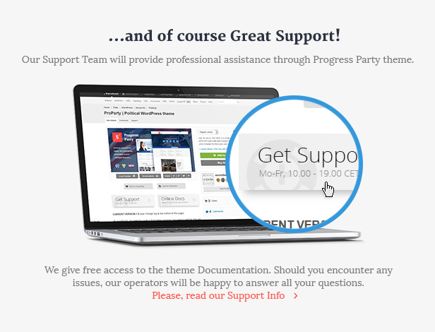 ProParty - A Clean Political WordPress theme