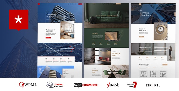 Nestin - Real Estate WordPress Theme - Real Estate WordPress