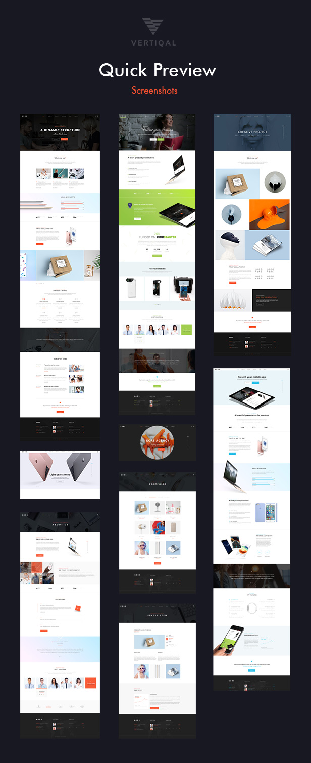 Kors - Multiuse Pack Business Template - 3