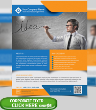 Corporate Business Flyer Template - 9
