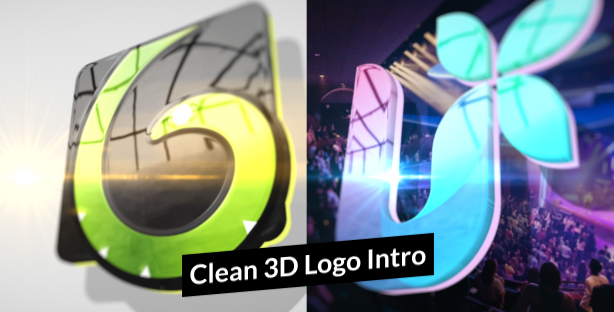 Clean-3-D-Logo-Intro