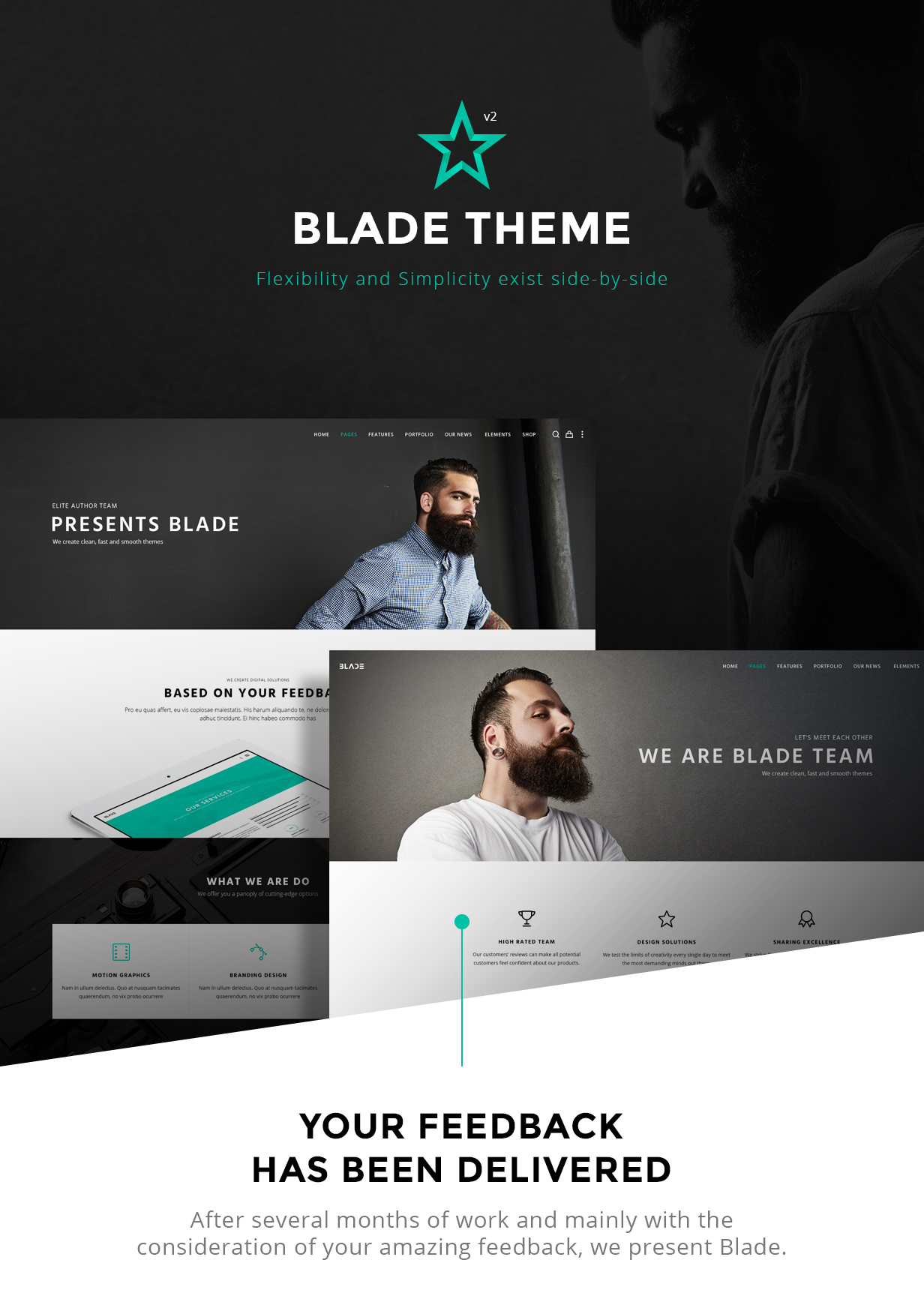 Blade - Responsive Multi-Functional Theme by greatives | ThemeForest