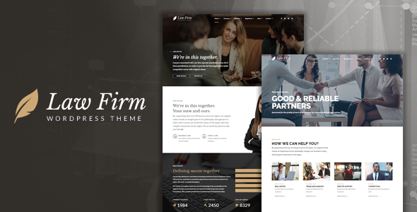 Law Firm - Lawyer & Attorney WordPress Theme