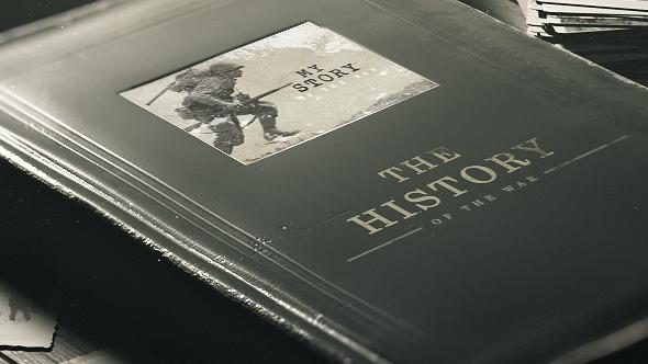 Old Book History Album - 25