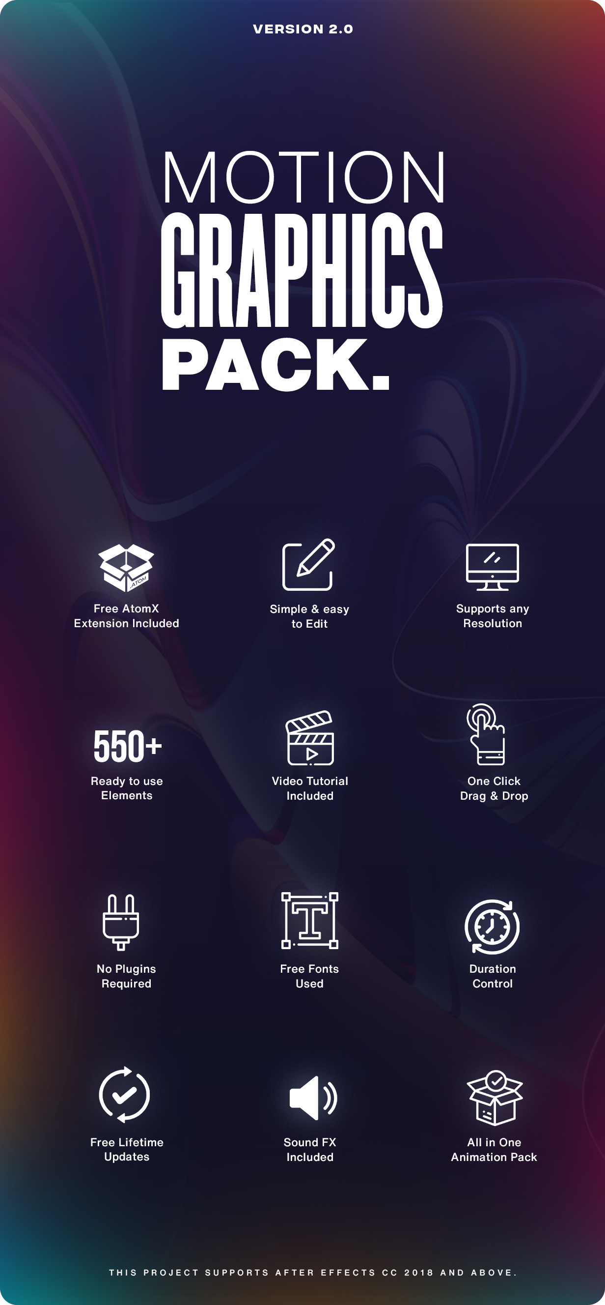 Motion Graphics Pack // 550+ Animations Pack - 2