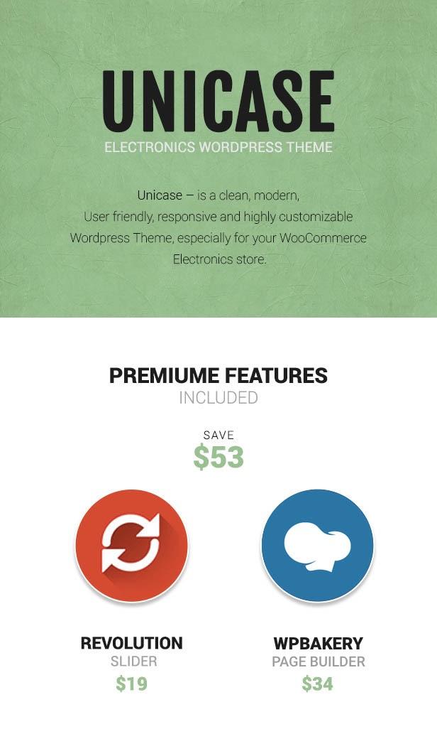 Unicase - Electronics Store WooCommerce Theme - 1