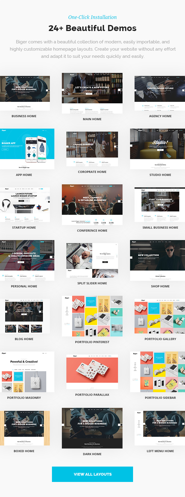 Biger - Responsive Multi-Purpose WordPress Theme - 3