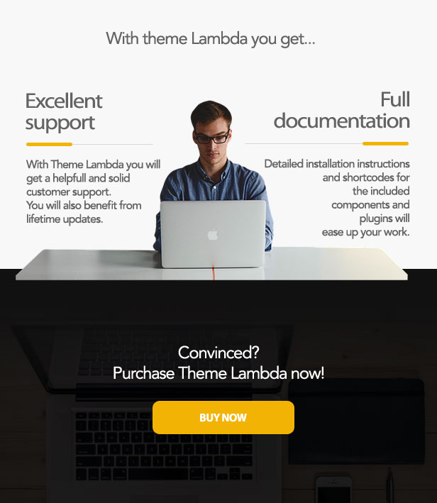 Theme Lambda for Moodle - buy theme