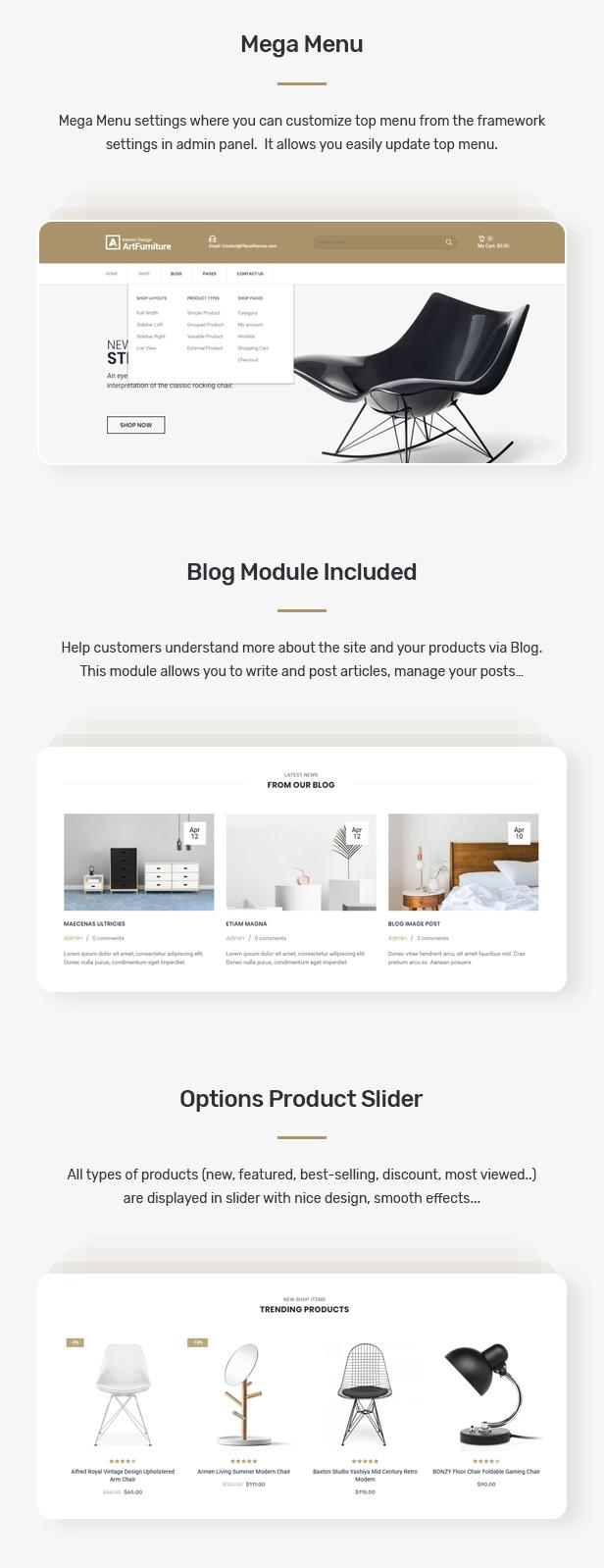 Artfurniture - Furniture Theme for WooCommerce WordPress 25