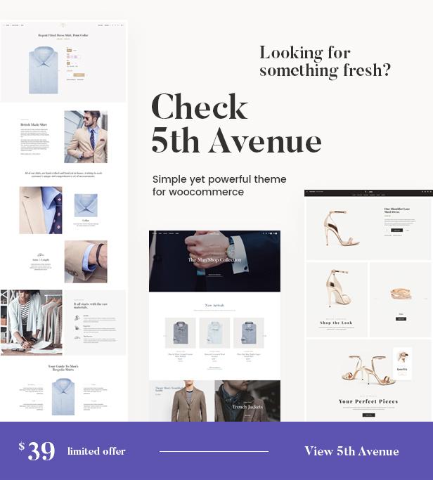 Simplicity - eCommerce Responsive WordPress Theme - 1