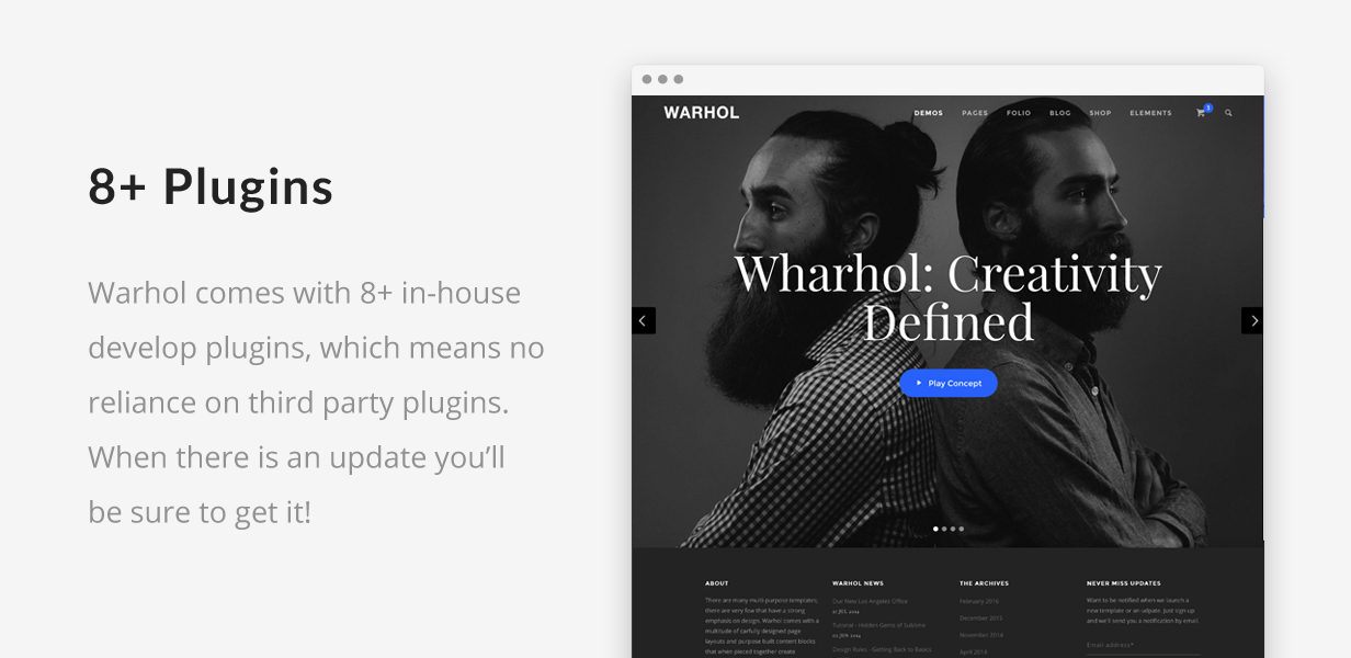 Warhol - Creative Multipurpose HTML Template - 7