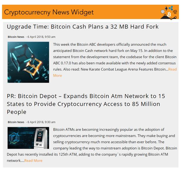 Cryptocurrency Widgets Pro v2.5.2-WordPress加密货币小工具插件插图16