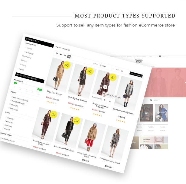 Sell any fahion products with Fashion WooCommerce WordPress Theme