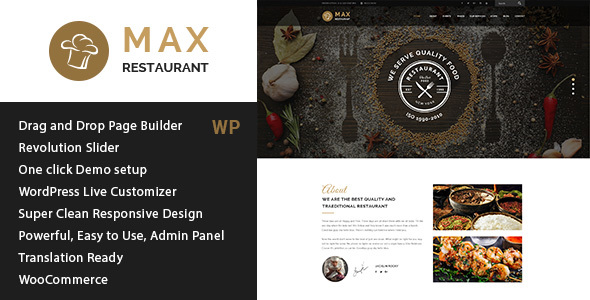 Max Magazine - News & Blog HTML Template