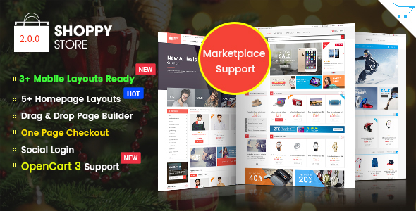 ClickBoom - Advanced OpenCart 2.3 Shopping Theme With Mobile-Specific Layouts - 7