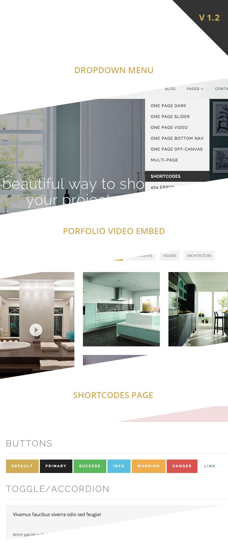 larx interior design studio template by wossthemes themeforest
