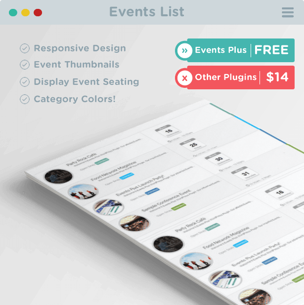 Events Calendar Registration & Booking by elbisnero | CodeCanyon
